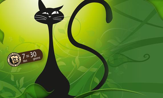 Siria lettiera per gatti 100 vegetale per for Migliore lettiera per gatti